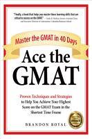 Ace the GMAT PDF