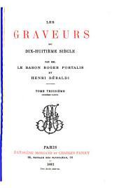 Les graveurs du dix-huitième siècle: Volume3,Numéro1