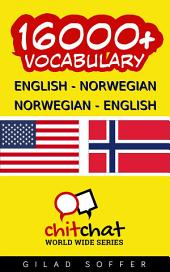 16000+ English - Norwegian Norwegian - English Vocabulary