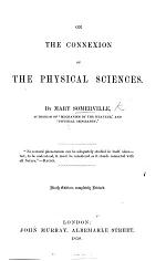 On the connexion of the physical sciences ... Eighth edition