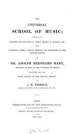 The universal school of music, tr. by A.H. Wehrhan