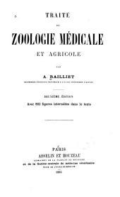 Traité de zoologie médicale et agricole