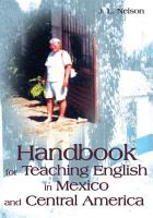 Handbook for Teaching English in Mexico and Central America PDF
