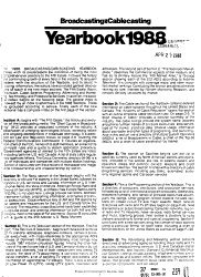 Broadcasting Cablecasting Yearbook Book PDF