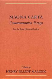 Magna Carta Commemoration Essays