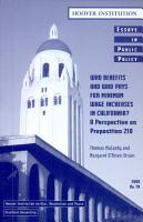 Who benefits and who pays for minimum wage increases in California  PDF