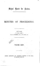 Minutes of Proceedings: Volume 24