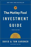 The Motley Fool Investment Guide  Third Edition PDF