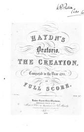 Haydn's Oratorio, The Creation: Composed in the Year 1799, in Full Score