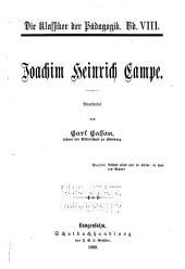 Joachim Heinrich Campe: Band 2