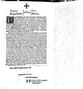Vivant in Pace Vivi Requiescant in Pace Mortui: Ea potissimum de causa mortem omnium terribilium terribilissimum aiunt ... affixus dilectissimus confrater noster R.P. Matthias Puchk ...