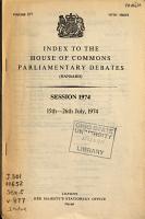 The Parliamentary Debates  Hansard  Official Report PDF