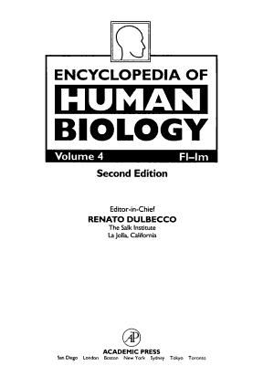 Encyclopedia of Human Biology PDF