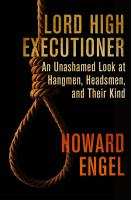 Lord High Executioner PDF