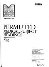 Permuted Medical Subject Headings PDF