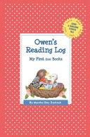 Owen's Reading Log: My First 200 Books (Gatst)