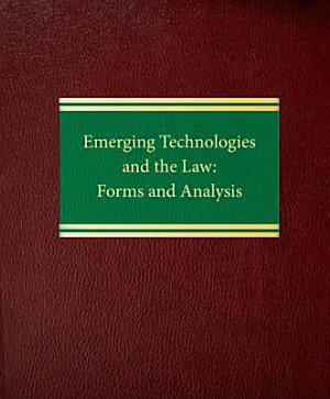 Emerging Technologies and the Law PDF