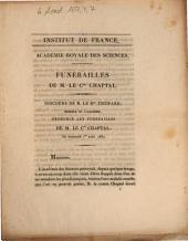 Funérailles de M. le Cte Chaptal: discours de M. le Bon Thénard ... le mercredi 1er août 1832