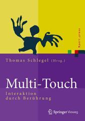 Multi-Touch: Interaktion durch Berührung