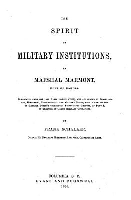 The Spirit of Military Institutions