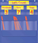 Counting Caddie   Place Value Pocket Chart
