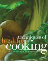Techniques of Healthy Cooking  Professional Edition PDF