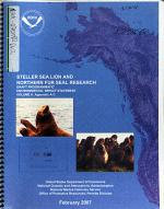 Steller Sea Lion and Northern Fur Seal Research