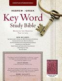 The Hebrew Greek Key Word Study Bible PDF