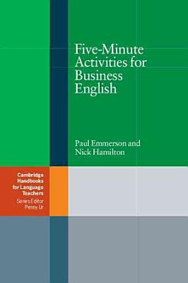 Five Minute Activities for Business English PDF