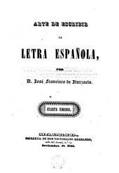 Arte de escribir la letra española