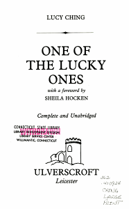 One of the Lucky Ones PDF