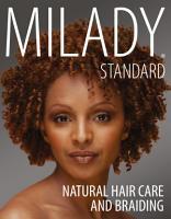 Milady Standard Natural Hair Care   Braiding PDF