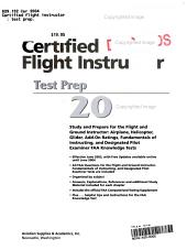 Certified Flight Instructor Test Prep 2004 PDF
