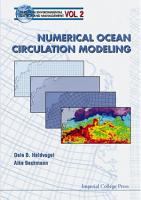 Numerical Ocean Circulation Modeling PDF