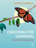 Coaching for Learning PDF