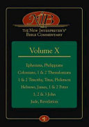The New Interpreter s Bible Commentary