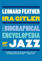 The Biographical Encyclopedia of Jazz PDF