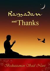 Ramadan and Thanks