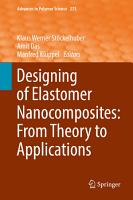Designing of Elastomer Nanocomposites  From Theory to Applications PDF