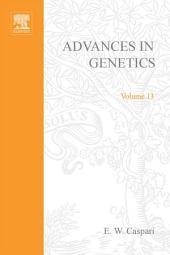 Advances in Genetics: Volume 13
