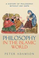 Philosophy in the Islamic World PDF