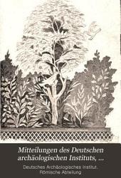 Bullettino dell'Instituto archeologico germanico, Sezione romana: Band 9