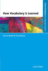 How Vocabulary is Learned