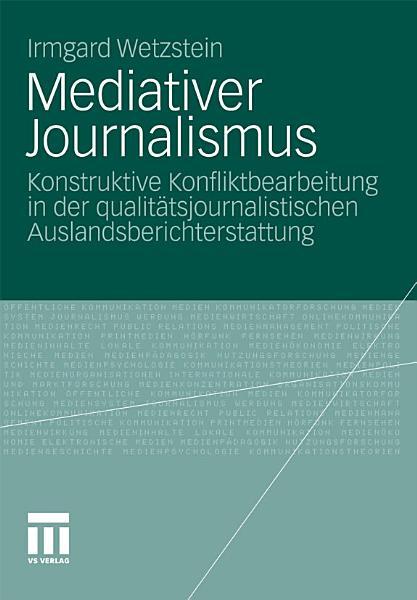 Mediativer Journalismus PDF