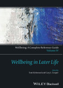 Wellbeing: A Complete Reference Guide, Wellbeing in Later Life