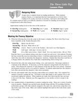 The Three Little Pigs  Reader s Theater Script   Fluency Lesson PDF