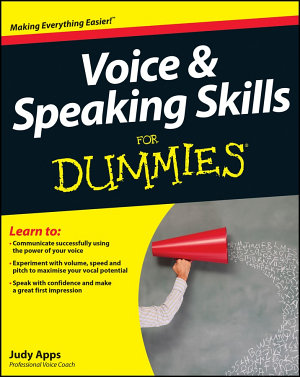 Voice and Speaking Skills For Dummies PDF