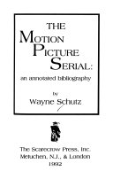 The Motion Picture Serial PDF