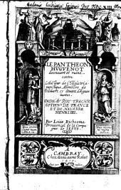 """Le Pantheon Hugenot decouvert et ruiné contre l'aucteur de l'""""Idolatrie papistique"""""""