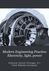 Electricity, light, power